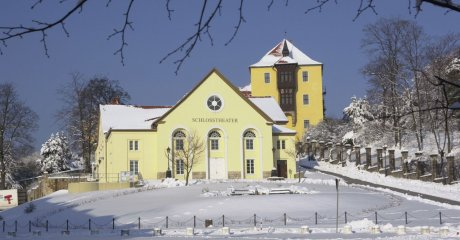 Schlosstheater im Winter